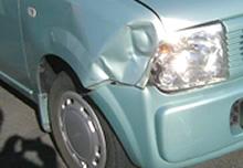事故を起こした時はのイメージ